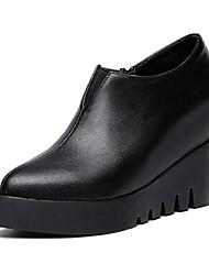 Women's Shoes Wedge Heel Wedges / Heels Heels Outdoor / Casual Black