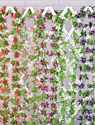 Soie Orchidées Fleurs artificielles