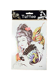 New waterproof temporary arm tattoos sexy body art removable tattoos WST-55 10/PCS