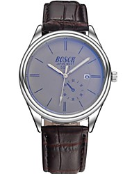 Men's Watch Quartz Dress Watch PU Band Wrist watch