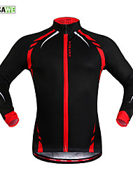 WOSAWE New Winter Fleece Jacket Mountain Bike Cycling Jersey Dress