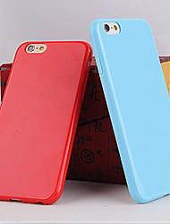 couleur tpu couleur de bonbons mous cas solides pour iphone 5c