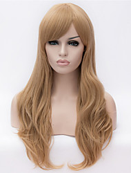 Europe And The United States  New Golden Lady Naturally Curly Hair Wig