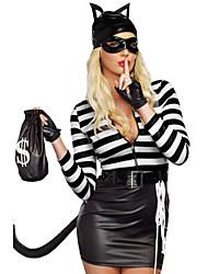 Chapeau - Plus de costumes - Féminin - Halloween / Carnaval - Robe / Manche / Ceinture / Plus d'accessoires / Chapeau / Coiffure