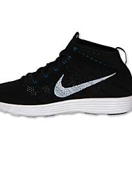 NIKE LUNAR FLYKNIT CHUKKA / Women's / Men's Fitness & Cross Training Shoes Customized Materials Black
