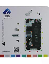 tapis de vis guide de pad technicien de réparation magnétique pour l'iphone 4s