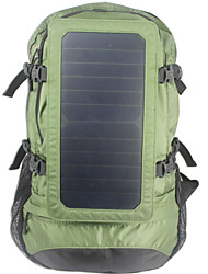 Outdoor Solar Backpack Outdoor Camping Solar Backpack Solar Hiking Bag 6.5W Solar Panel With 2.5L Water Bag