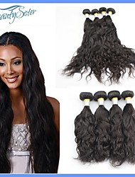Peruvian Hair Products Natural Wave Hair 4Pieces Lot Peruvian Virgin Hair 7A Natural Color Human Hair Weft