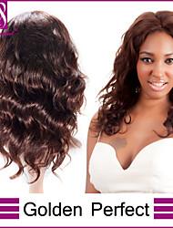 14inch 24inch-100% бразильские Remy девственницы человеческих волос супер тела полные парики шнурка бразильских виргинских человеческие