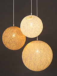 Moderno / Contemporáneo / Tradicional/Clásico / Rústico/Campestre / Cosecha LED Resina Lámparas ColgantesSala de estar / Dormitorio /