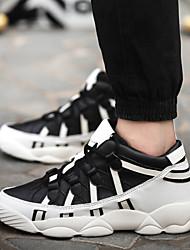 Men's Walking Shoes Black / Red / White