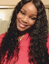 Long Full Lace Human Hair kinky Curly Wigs Virgin Brazilian Human Hair Lace Wigs For Africa Americans
