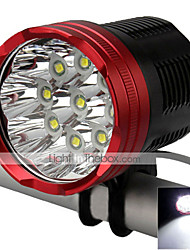 LT Headlamps / Bike Lights LED 12000 Lumens 5 Mode Cree XM-L T6 18650Waterproof / Rechargeable / Impact Resistant / Strike Bezel /