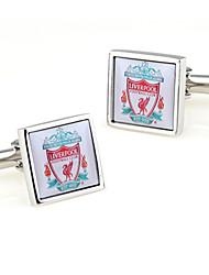 Liverpool Football Club Design Men's Cufflinks