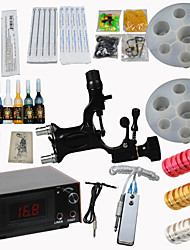 Dragonfly Rotary Tattoo Motor Machine Gun Kit Digital Power Supply Needles Ink Nozzles High Quality