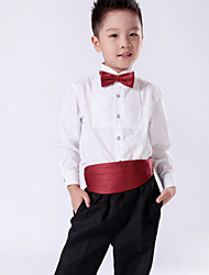 White Cotton Ring Bearer Suit - 1 Pieces