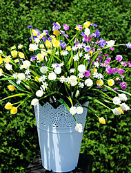 Plastic Plants Artificial Flowers