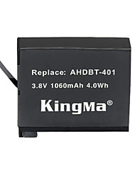 KingMa® Rechargeable AHDBT-401 Battery 1060mAh for Gopro Hero 4 Black Hero Silver