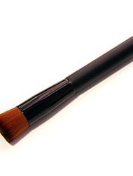 1 - Pinceau Poudre - Pinceau en Fibres Synthétiques - Pinceau Moyen