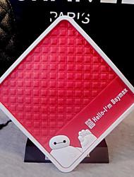 car dashboard anti- dérapant avec baymax support de téléphone portable pad antidérapant gps tapis de navigation par satellite