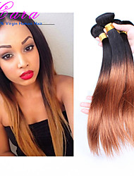 3 Pieces Straight Human Hair Weaves Peruvian Texture Human Hair Weaves Straight