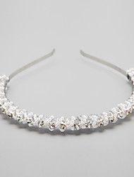Crystal / Alloy / Imitation Pearl / Rhinestone Headbands Wedding / Party 1set