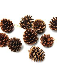 Fruit & Fleur de Décoration - Marron - Noël  - en Plastique