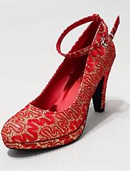 Chaussures de mariage - Rouge - Mariage / Décontracté / Soirée & Evénement - Talons - Talons - Homme