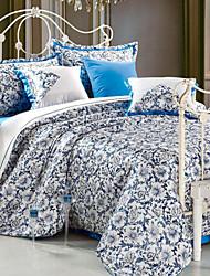 Home Textiles 4 Pcs 100% Silk Wedding Bedding Set Four-piece Duvet Cover Bed Sheet AXYR