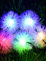Christmas Snow Ball Waterproof Light Lamp String 5M PVC 50Led 220V 3W