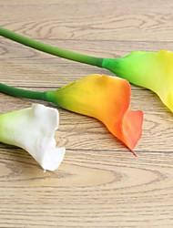 PU Lis Calla Fleurs artificielles
