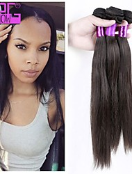 In Stock Human Hair Extension Remy Human Hair Wefts Indian Natural Black
