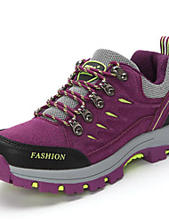 Women's Hiking Shoes Leather Purple / Red