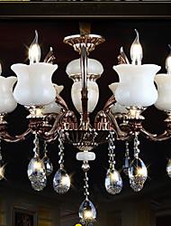Jade Zinc Alloy Pendant lamp