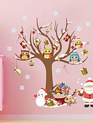 Животные / ботанический / Рождество / Мультипликация / Романтика / Мода / Праздник / Геометрия Наклейки Простые наклейки , PVC88cm x 80cm
