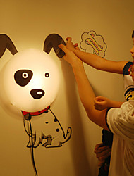 25W 220V High Temperature Resistant Plastic And 10 C Can Remove Wall Stickers Creative 3D Wall Paper Wall Lamp 28*28*7CM