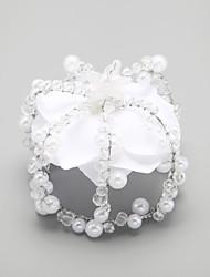 Crystal / Alloy / Imitation Pearl Tiaras Wedding / Party 1set