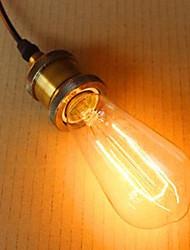 ST64 lLeaves 110 V - 240 - V E26-40 W E27 Edison Light Bulb