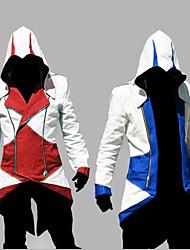 Video Game Assassinator Hoodie Cosplay Costume