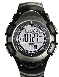 Da uomo / Da donna / Unisex Orologio da polso DigitaleLCD / Altimetro / Compass / Termometri / Calendario / Cronografo / Resistente