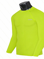 Men's Running Tops Fitness Breathable / Ultraviolet Resistant / Quick Dry / Yellow / White / Red / Black / Blue