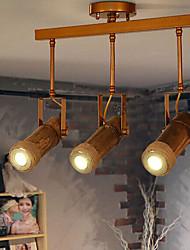 3W Rail d'éclairage ,  Traditionnel/Classique / Vintage / Rétro / Rustique Autres Fonctionnalité for LED Bois/BambouSalle de séjour /