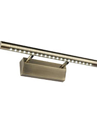 LED / Mini Style / Bulb Included Bathroom Lighting,Country LED Integrated Metal