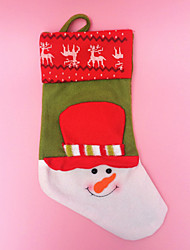 Holidays Ornament Christmas Santa Claus Socks & Stockings For Christmas Party