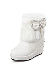 Women's  Wedge Heel Round Toe / Closed Toe Boots