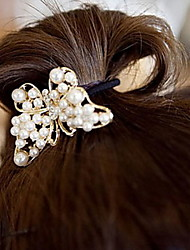 Exquisite Pearl Bowknot Hair Band Hair Accessories