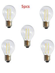 Dekorativ Kugelbirnen , E26/E27 2 W 2 High Power LED 250LM LM Warmes Weiß / Kühles Weiß AC 220-240 V