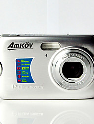 "AMKOV CDFE Digital Camera 18.0MP 2.7""LCD Screen 550mAh Lithium Battery HD Digital Camera"