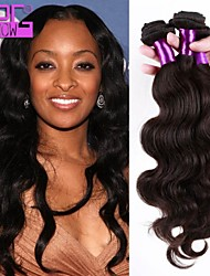 Top Quality Brazilian Virgin Human Hair Body Wave Extension 10-28 Inch in Stock