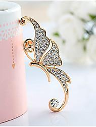 JY Jewelry butterfly ear clip earring